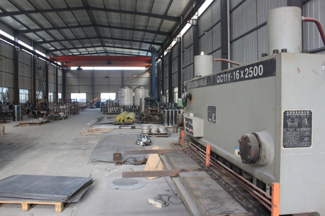 Factory for big filter