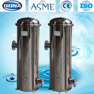 China SS 304 multi media filter housing factory