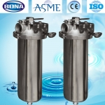 China Single cartridge filter housing