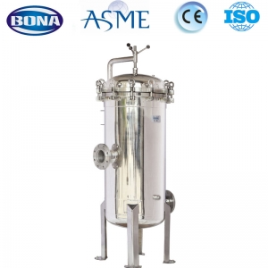 cartridge filter housing with flange factory made in China