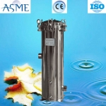 Customized ss 316l cartridge filter housing