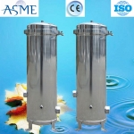 Low price polished cartridge filter housing