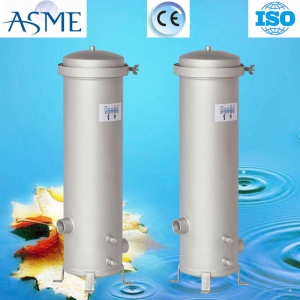 Customized stainless steel round filter housing