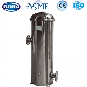 Cartridge filter for water treatment